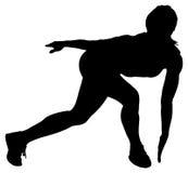 Ejercicio del atleta de sexo femenino imágenes de archivo libres de regalías