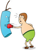 Ejercicio del boxeador Imagen de archivo