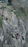 Ejercicio del rescate de la montaña Fotografía de archivo libre de regalías