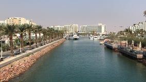 Ejlat, η πόλη του Ισραήλ στοκ φωτογραφία με δικαίωμα ελεύθερης χρήσης