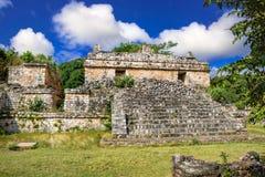 Ek Balam玛雅考古学站点 玛雅人废墟,尤加坦,墨西哥 库存照片