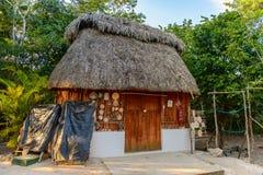 Ek Balam, Yucatec玛雅人考古学站点, Temozon, Yucata 图库摄影