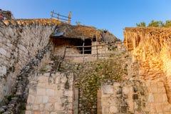 Ek Balam, Yucatec玛雅人考古学站点, Temozon, Yucata 库存照片