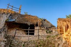 Ek Balam, Yucatec玛雅人考古学站点, Temozon, Yucata 库存图片