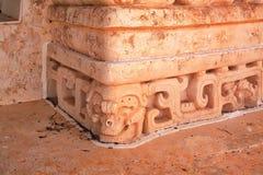 Ek ` Balam gravvalvet av Ukit Kan Lek Tok Royaltyfri Foto