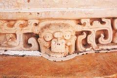 Ek ` Balam, gravvalvet av Ukit Kan Lek Tok Royaltyfria Bilder