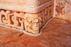 Ek ` Balam, gravvalvet av Ukit Kan Lek Tok Royaltyfria Foton