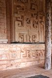 Ek ` Balam, gravvalvet av Ukit Kan Lek Tok Fotografering för Bildbyråer