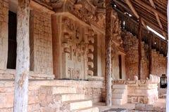 Ek ` Balam, gravvalvet av Ukit Kan Lek Tok Arkivbild