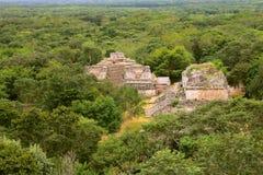 Ek Balam II. Ancient maya city of Ek Balam, mexican state of yucatan Royalty Free Stock Image