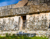 Ek Balam Mayan Archeological Site. Ancient Maya Pyramids and Rui Royalty Free Stock Images