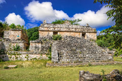 Ek Balam Mayan Archeological Site. Maya Ruins, Yucatan, Mexico Stock Photo