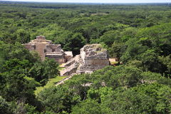 Ek Balam Mayan Ruins Stock Photo