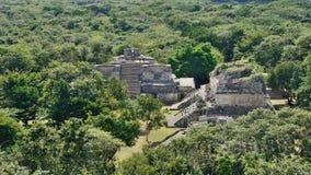 Ek Balam, Mexico – aerial view Stock Images