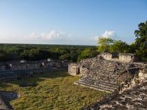 Ek Balam - Mexiko lizenzfreie stockfotografie