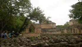 Ek balam ruins Stock Image