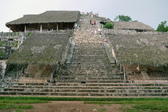 Ek Balam, Yucatan. MEXICO. royalty free stock photography