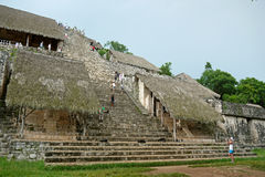 Ek Balam, Yucatan. MEXICO. Stock Image