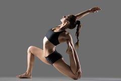 Eka Pada Rajakapotasana II yoga Pose Royalty Free Stock Photos