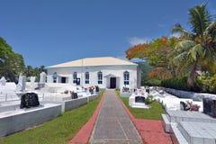 Ekalesia Arorangi kock Islands Christian Church Rarotonga Cook Arkivfoton