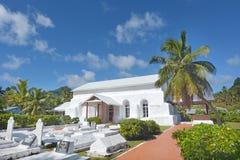 Ekalesia Matavera Kucbarskich wysp kościół chrześcijański Rarotonga Cook ja Obrazy Royalty Free