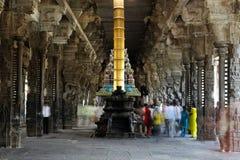 Ekambareswarar Hindu Temple in India Royalty Free Stock Photo