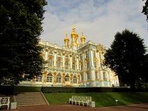 Ekaterina宫殿,俄罗斯, 2017年9月9日, 库存照片