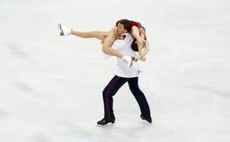 Ekaterina BOBROVA/Dmitri SOLOVIEV (RUS) Imagem de Stock