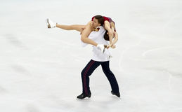 Ekaterina BOBROVA/Dmitri SOLOVIEV (RUS) Στοκ Εικόνα