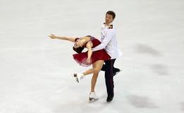 Ekaterina BOBROVA/Dmitri SOLOVIEV (RUS) Imagem de Stock Royalty Free