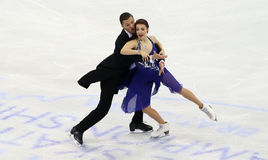 Ekaterina BOBROVA/Dmitri SOLOVIEV (RUS) Fotografia de Stock
