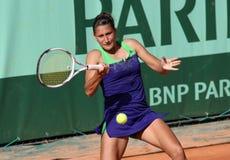 Ekaterina Bychkova (RUS) in Roland Garros 2011 Stock Fotografie