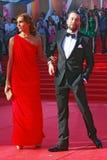 Ekaterina Drobysh and Daniil Fedorov Royalty Free Stock Photo