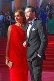 Ekaterina Drobysh and Daniil Fedorov Stock Photos