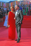 Ekaterina Drobysh en Daniil Fedorov Royalty-vrije Stock Afbeelding