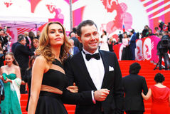 Ekaterina Drobysh at XXXVI Moscow International Film Festival Stock Photo