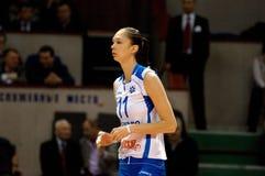 Ekaterina Gamova(11), Dynamo Kazan team Royalty Free Stock Image