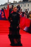 Ekaterina Malikova at Moscow Film Festival. MOSCOW - JUNE 19, 2015: Ekaterina Malikova at XXXVII Moscow International Film Festival red carpet opening ceremony Royalty Free Stock Photography