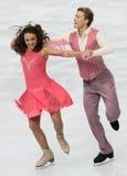 Ekaterina RIAZANOVA / Ilia TKACHENKO (RUS) Royalty Free Stock Images