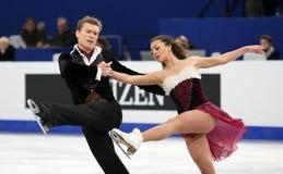 Ekaterina RIAZANOVA / Ilia TKACHENKO (RUS) Royalty Free Stock Photo