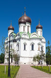 Ekaterina's cathedral. Pushkin. Petersburg. Russia Royalty Free Stock Photography