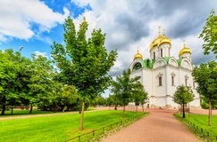 Ekaterina's cathedral in Pushkin Royalty Free Stock Photography