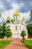 Ekaterina's cathedral in Pushkin Stock Photos