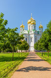 Ekaterina's cathedral in Pushkin Stock Image