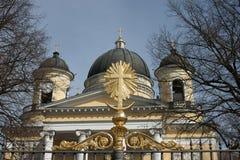 Ekaterina's church Royalty Free Stock Photography