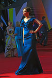 Ekaterina Volkova at Moscow Film Festival Royalty Free Stock Photos
