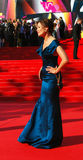 Ekaterina Volkova på Moskvafilmfestivalen Royaltyfri Fotografi