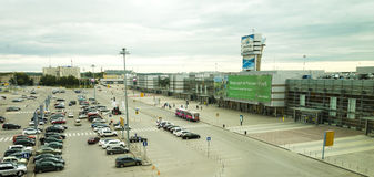 Ekaterinburg Airport Terminal Building Royalty Free Stock Photos