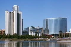 Ekaterinburg city. Skyscraper of Russia  Ekaterinburg city Stock Images