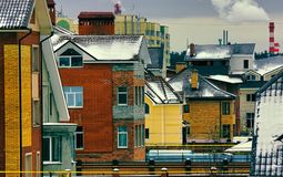 Ekaterinburg dzień Fotografia Royalty Free